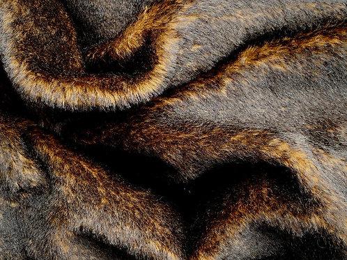 Alpaca Fur Fabric 14mm Cinders
