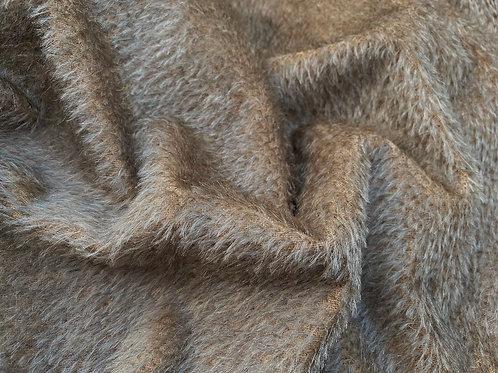 Mohair Fabric 10mm Ashen Beige