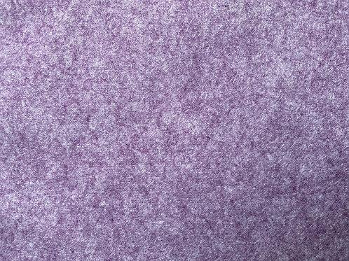 Wool Blend Felt Fabric Lilac Marl
