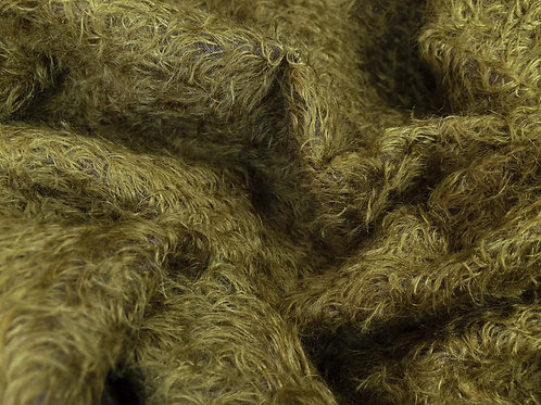 Mohair Fabric 16mm Tawny Brown