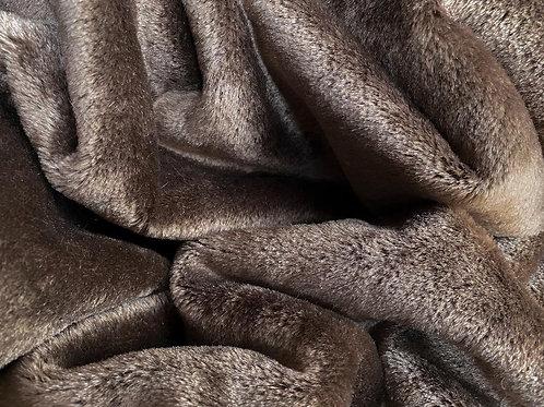 Mohair Fabric 7mm Brown Bear