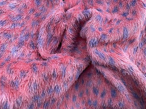 Miniature Viscose Fabric 4mm Coral Reef