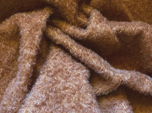 Mohair Fabric 9mm Cafe au Lait