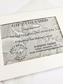 Teddy Bear Making Course Vouchers