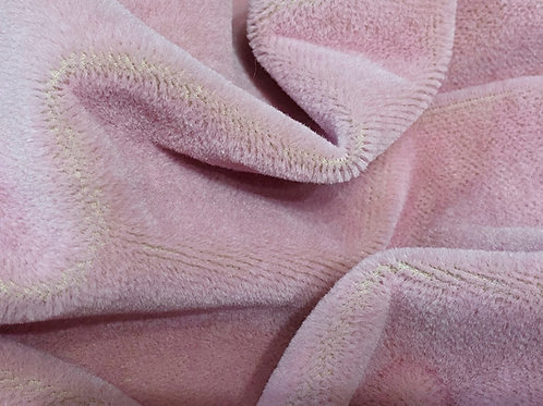 Miniature Mohair Fabric 3mm Pink Rose
