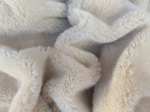 Alpaca Fur Fabric 10mm Cashmere Cream
