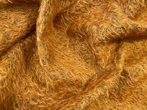 Mohair Fabric 16mm Celtic Copper