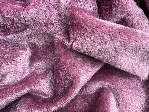 Mohair Fabric 6mm Blackcurrant