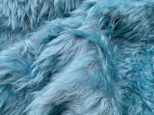 Mohair Fabric 35mm Silken Cyan