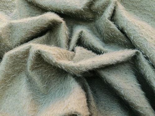 Mohair Fabric 9mm Golden Sage
