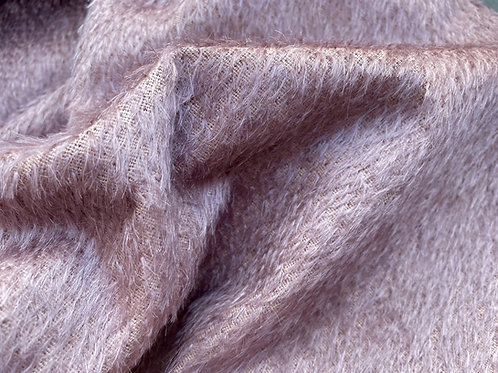 Mohair Fabric 8mm Vintage Plum