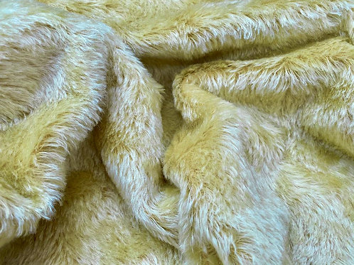 Mohair Fabric 20mm Lux Gold