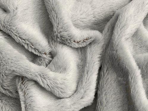Alpaca Fur Fabric 14mm Lamp Grey