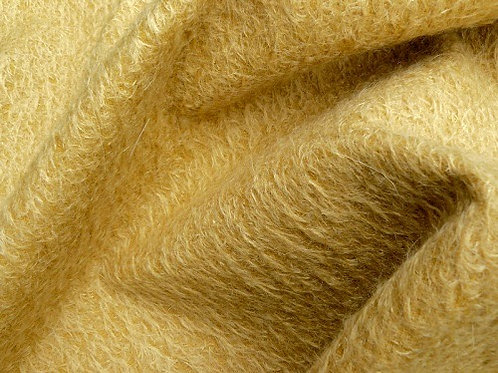 Mohair Fabric 11mm Felted Sunny Gold