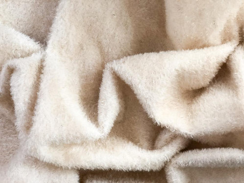 Mohair Fabric 9mm Winter Snow