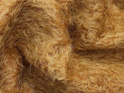 Mohair Fabric 16mm Summer Gold