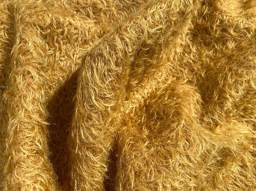 Mohair Fabric 16mm Grand Gold