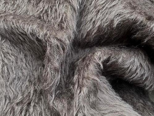 Mohair Fabric 20mm Ironstone