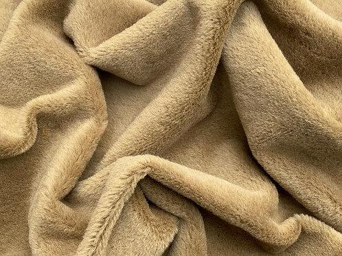 Alpaca Fur Fabric 8mm Richest Beige