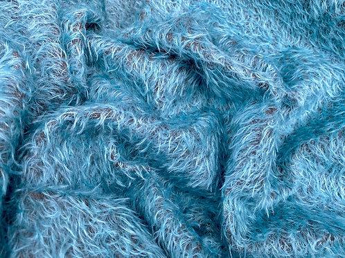 Mohair Fabric 16mm Bahama Blue