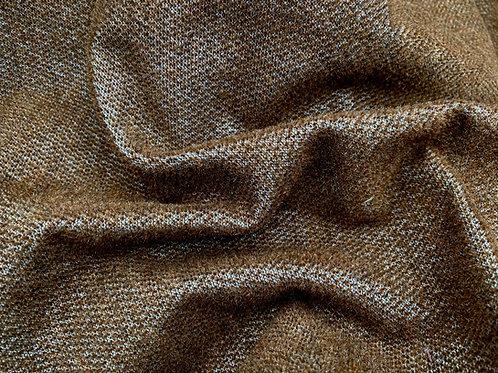Miniature Mohair Fabric 2mm Vintage Bruin
