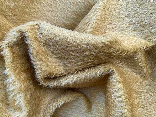 Mohair Fabric 8mm Gold Gilt