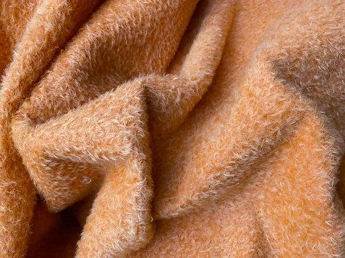 Mohair Fabric 9mm Hallow Orange