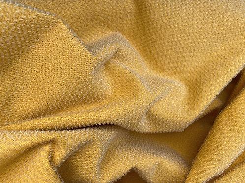Miniature Mohair Fabric 2mm Vibrant Gold