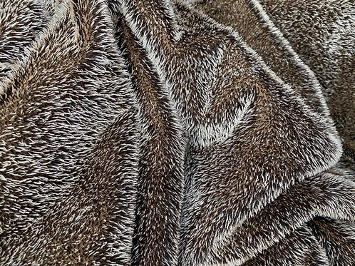 Mohair Fabric 10mm Short Hedgehog