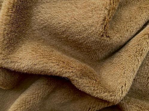 Alpaca Fur Fabric 8mm Rich Brown