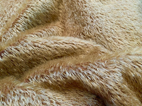 Mohair Fabric 10mm Sun Gold