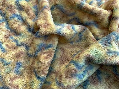 Miniature Viscose Fabric 4mm Rain Forest