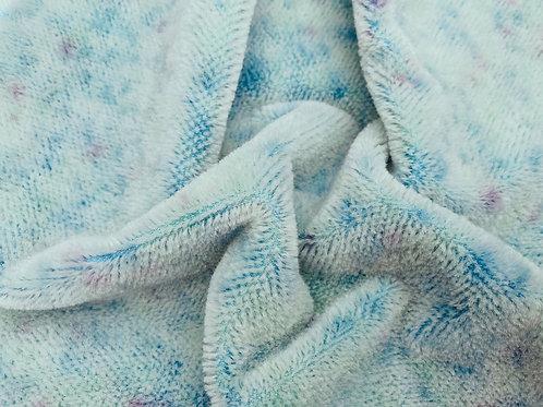 Miniature Mohair Fabric 3mm Blue Reflections