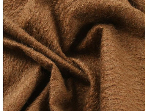 Mohair Fabric 11mm Felted Conker Bronze