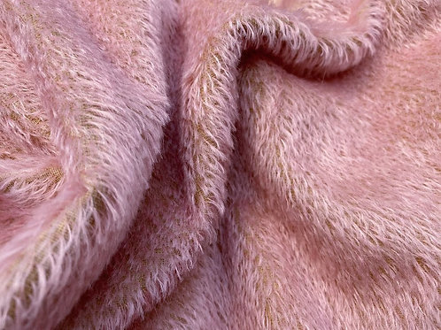Mohair Fabric 10mm Pink Pearl