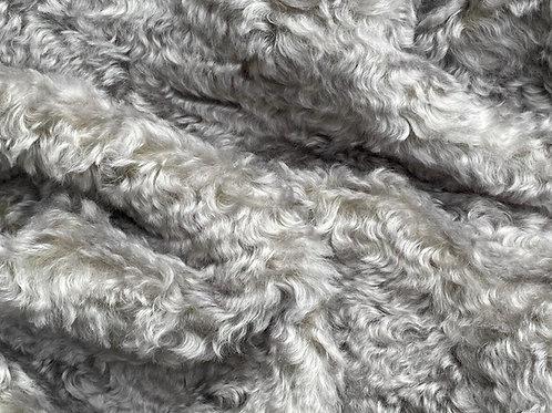 Mohair Fabric 25mm Gracious Grey