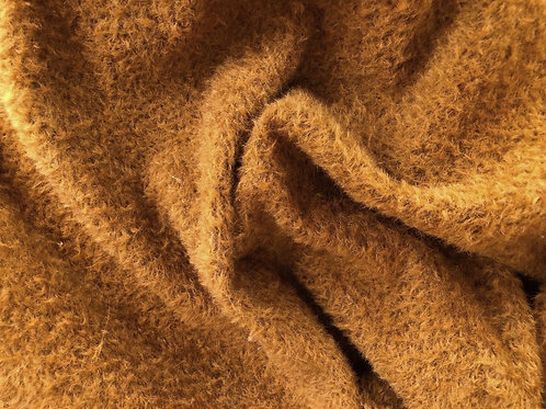 Mohair Fabric 9mm Copper Brown