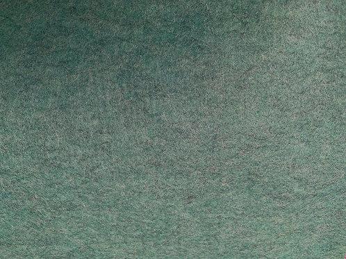 Wool Blend Felt Fabric Holly Green Marl
