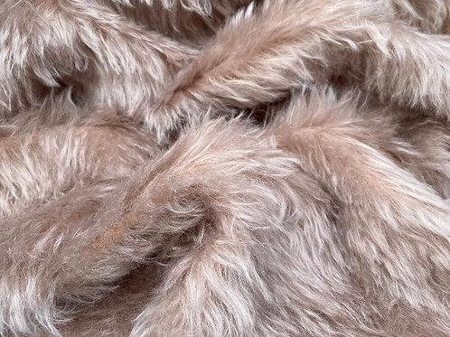Mohair Fabric 35mm Silken Berry