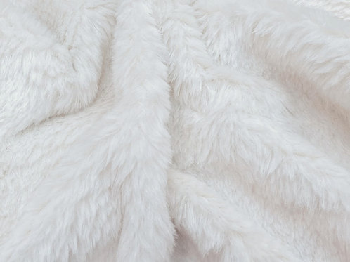 Alpaca Fur Fabric 20mm Vanilla
