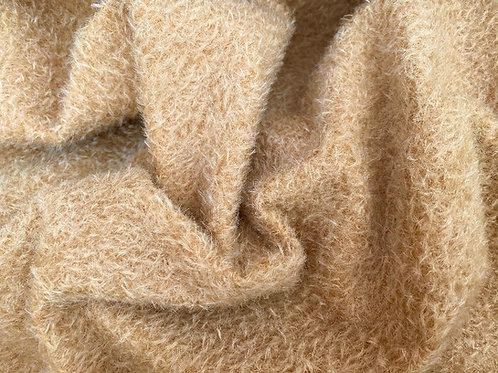 Mohair Fabric 9mm Burnished Gold