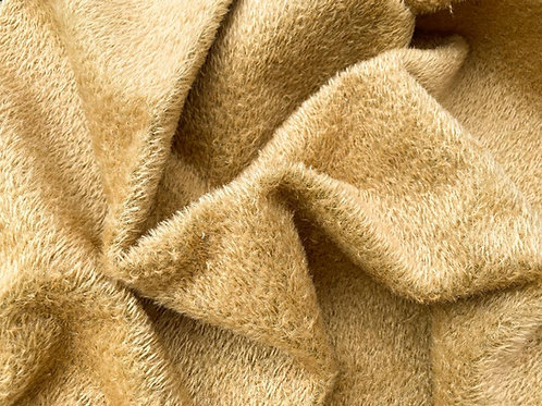 Mohair Fabric 7mm Golden Cup Tufted