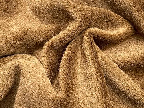 Alpaca Fur Fabric 8mm Sun Bronze