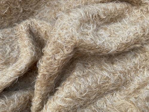 Mohair Fabric 23mm Olden Gold