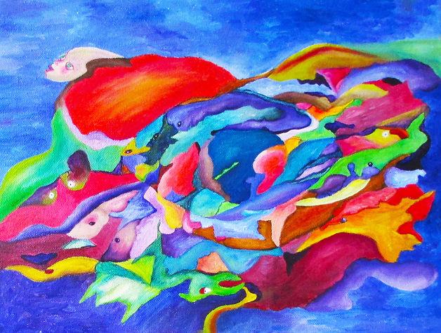 Light Through Leaves and Branches , #7 (by Leigh Ann Willar McDonagh)