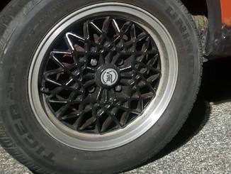 Wheel of VW Pickup