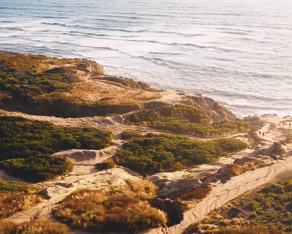 Sunset Cliffs in San Diego, CA