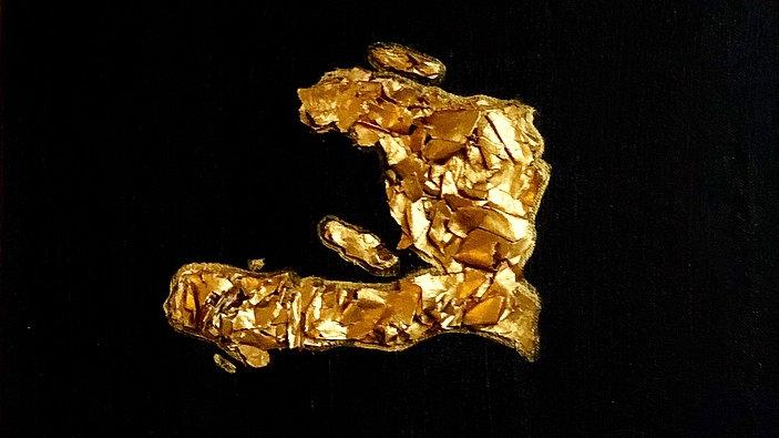 """Ayiti Cherie"" Platinum Gold"
