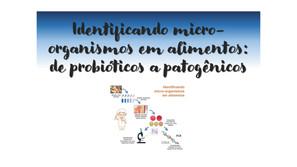 Identificando micro-organismos em alimentos: de probióticos a patogênicos