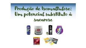 Produção de isomaltulose: um potencial substituto à sacarose